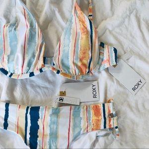 NWT ROXY White River Bikini Set